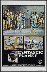 fantastic planet movie poster