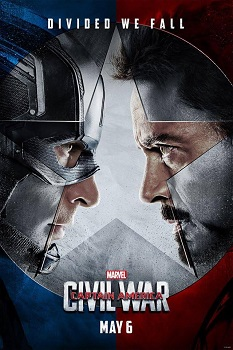 captain american civil war movie poster